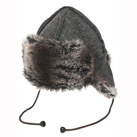 66° North Kaldi Arctic bonnet gris cendres